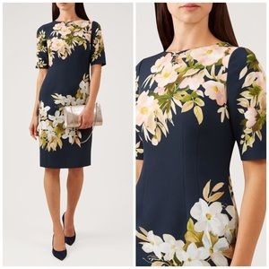 NWT Hobbs London Floral Astraea Sheath Dress